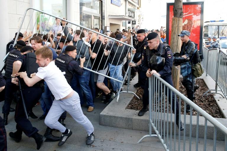 """Le Parquet russe veut réagir """"avec sévérité"""" à toute nouvelle manifestation non autorisée"""