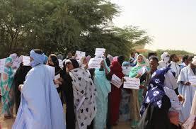 Mobilisation des femmes victimes de Cheikh Ridha