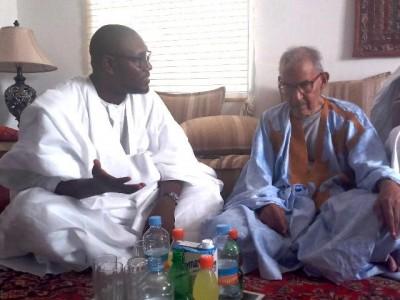 Mauritanie : le Chef de file de l'opposition démocratique s'entretient avec le président du Rfd sur la situation politique du pays