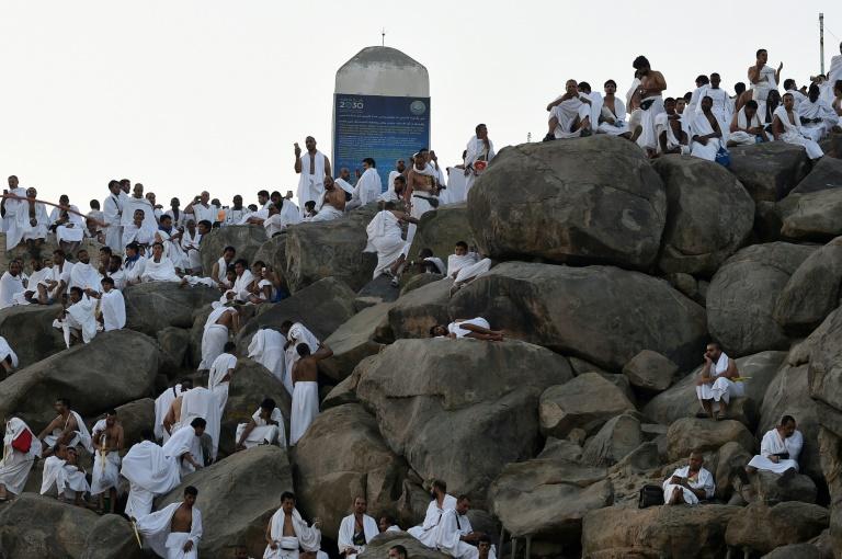 Arabie: élan de ferveur sur le mont Arafat, temps fort du hajj