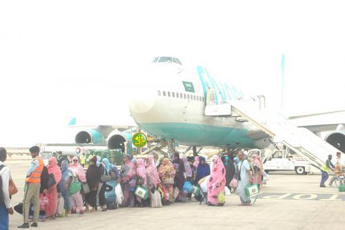 Retour à Nouakchott du 1er contingent des pèlerins mauritaniens