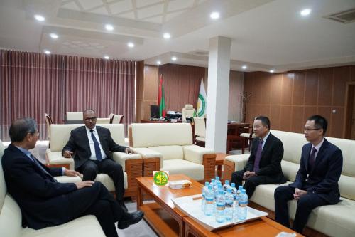 Le président de l'UNPM reçoit l'ambassadeur chinois