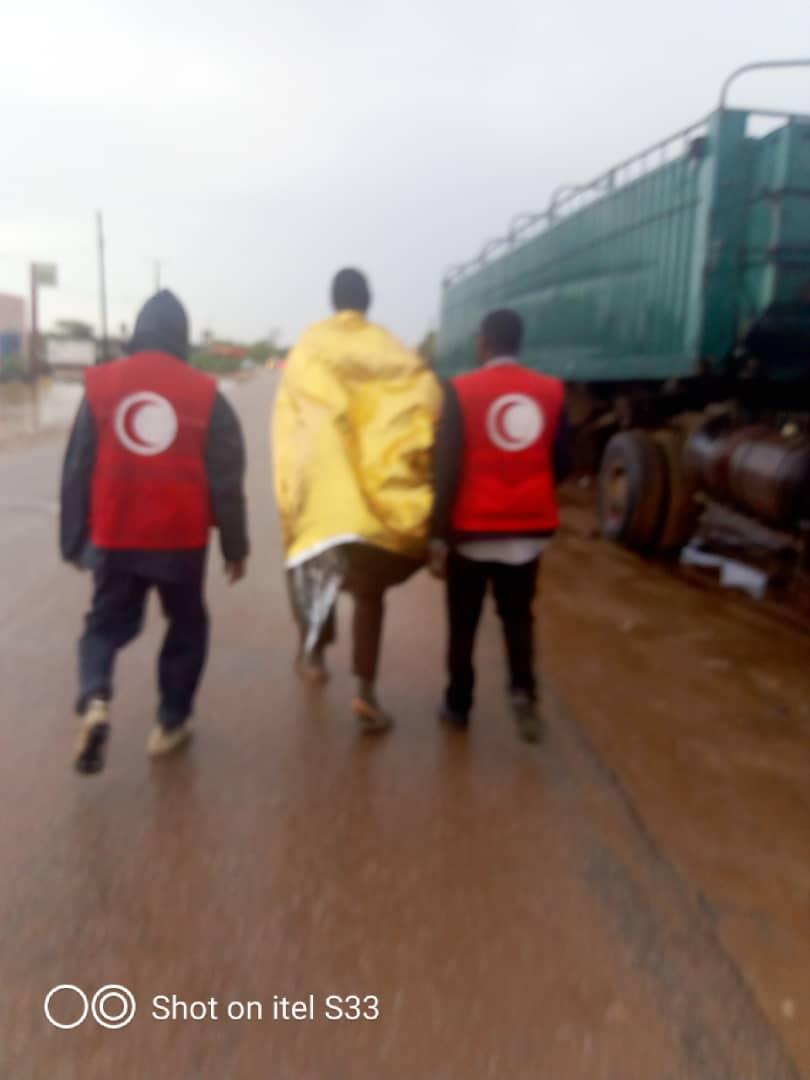 Croissant rouge mauritanien à Sélibaby