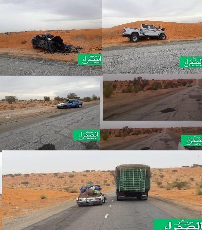 Aout: Dix (10) accidents routiers enregistrés prés de Boutilimit (chiffres)