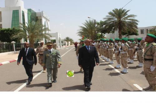 Le ministre de la défense visite le siège de l'état- major général des armées
