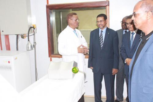 Le ministre de la Santé visite des institutions de son département