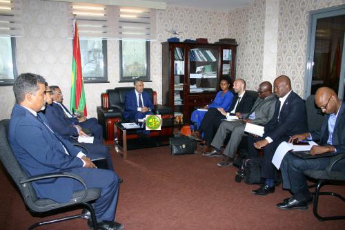 Le ministre de l'Économie s'entretient avec une mission conjointe du G5 Sahel et HC aux droits de l'Homme