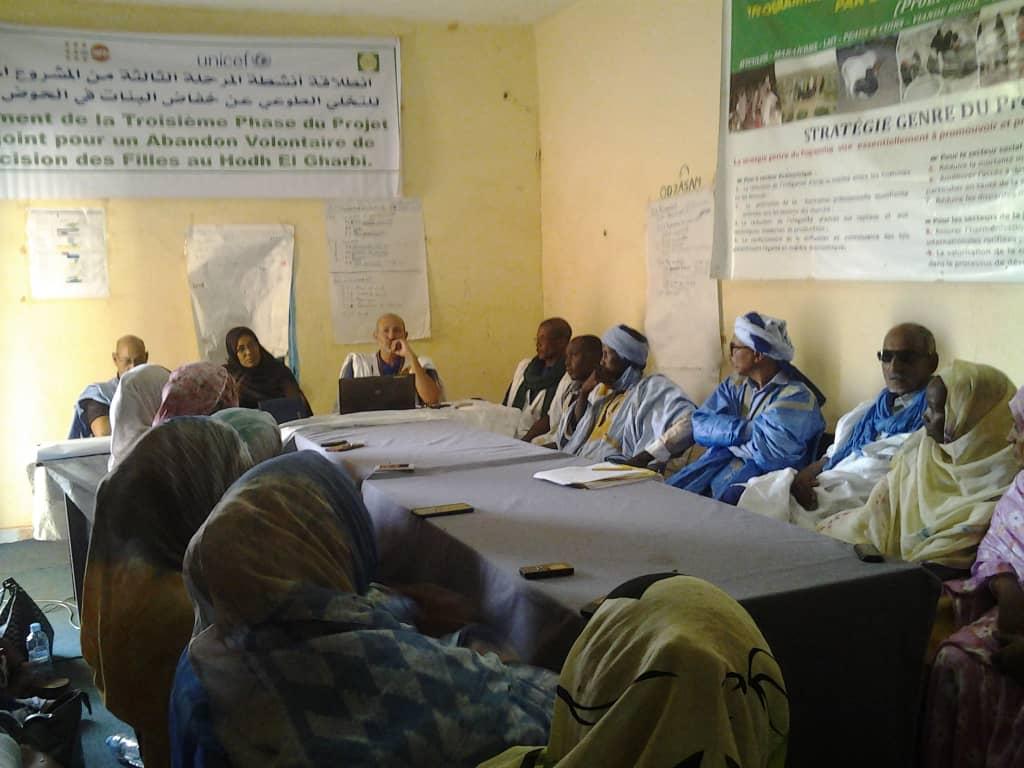 Démarrage au Hodh Elgharbi de la 3' phase du projet conjoint de lutte contre les MGF