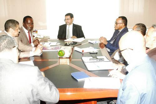 Le ministre de la santé reçoit le représentant du FNUAP