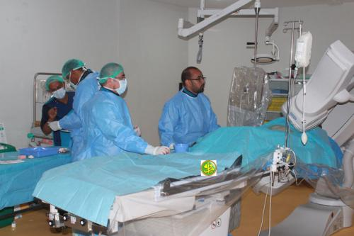 Une équipe médicale du Centre du Roi Selmane réalise des opérations du cœur à Nouakchott