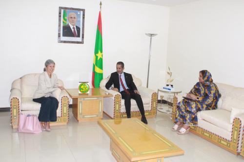 Le Premier ministre reçoit la représentante résidente du Haut Commissariat des Nations Unies pour les Réfugiés