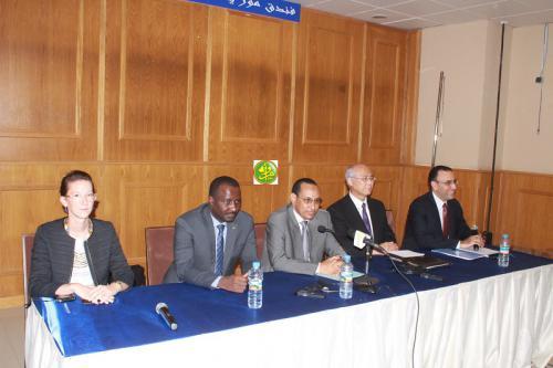 Organisation d'un atelier de formation sur la coopération judiciaire internationale dans le domaine de la lutte contre le terrorisme