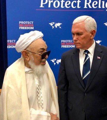 L'érudit O. Boyé représentant des oulémas musulmans à un sommet mondial
