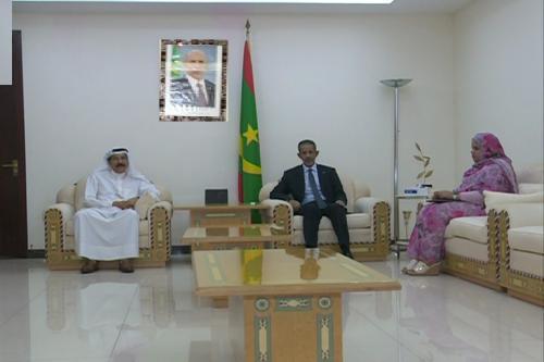 Le Premier ministre reçoit l'ambassadeur du Koweït en Mauritanie