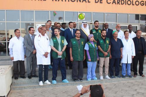 Le ministre de la santé visite le centre national de cardiologie