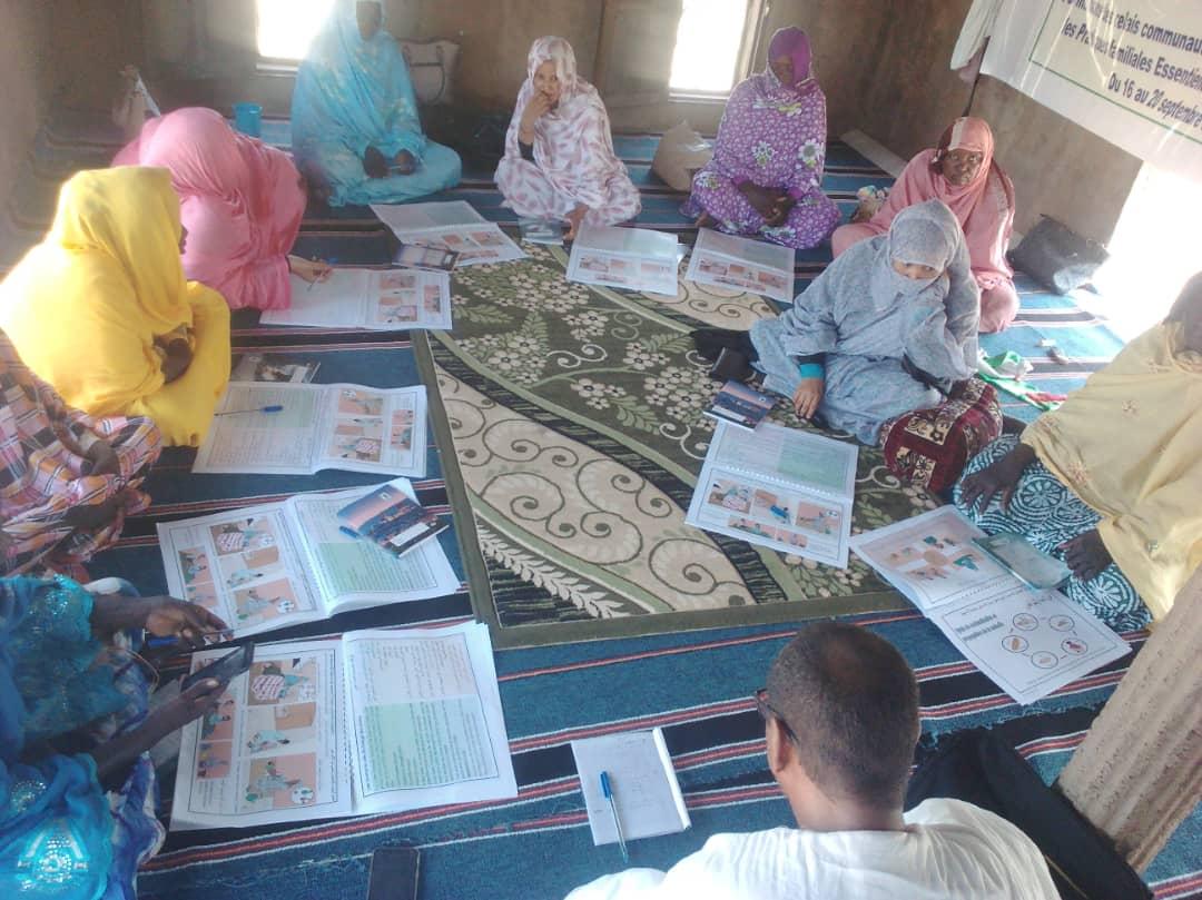 Projet SAFIRE au Hodh Elgharbi: Formations des relais et ciblage des bénéficiaires