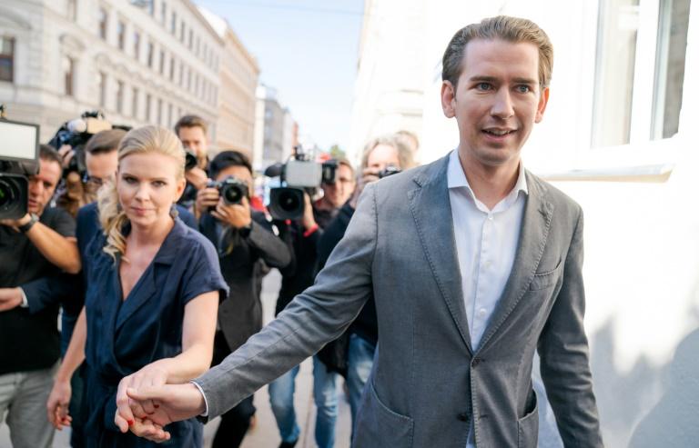 Législatives en Autriche: la seconde chance de Kurz et un test pour l'extrême droite