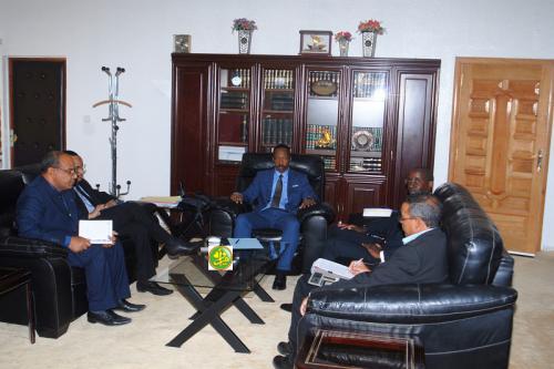 Le ministre de la justice reçoit le représentant résident du PNUD en Mauritanie