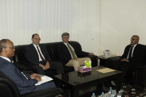 Le ministre des pêches s'entretient avec l'ambassadeur de l'UE à Nouakchott