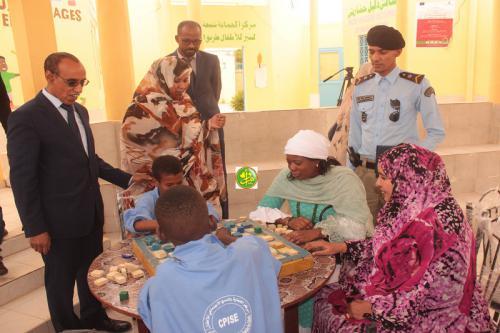 La ministre des affaires sociales visite le centre de protection de l'enfance à TevraghZeina