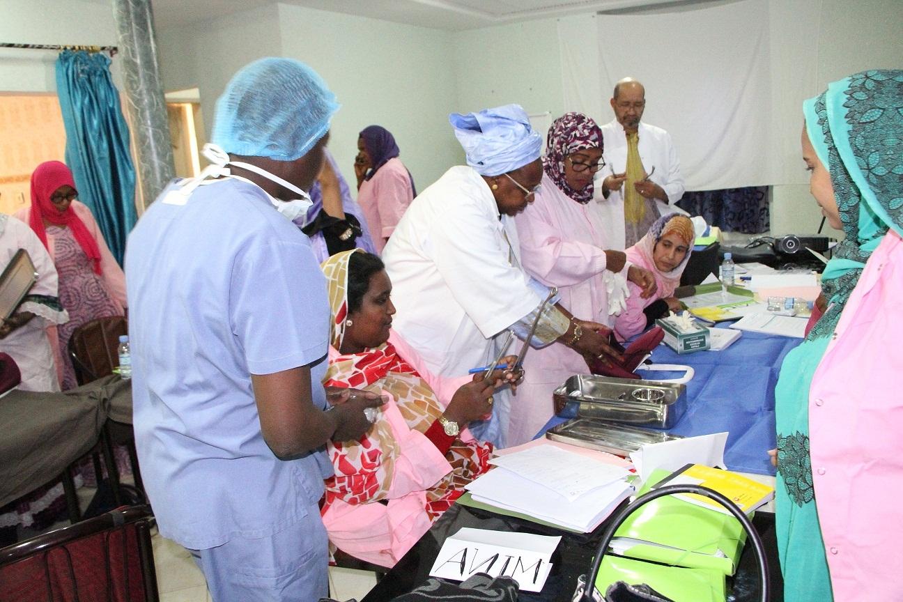 Dix pays d'Afrique de l'Ouest à Nouakchott pour valider les documents du Mentorat clinique des sages-femmes