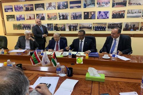 Mise en place d'un conseil d'affaires mixte mauritano-Jordanien