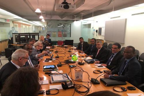 Démarrage de la première réunion de la délégation mauritanienne aux réunions de la Banque mondiale et du FMI à Washington