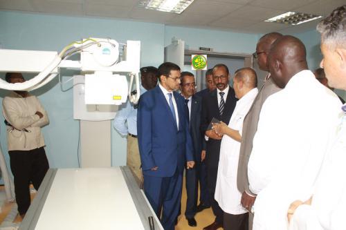 Le ministre de la Santé effectue une visite d'information au Centre national d'hépato-virologie