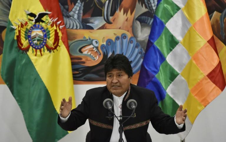"""Elections en Bolivie : le président Morales compare la grève générale à un """"coup d'Etat"""""""