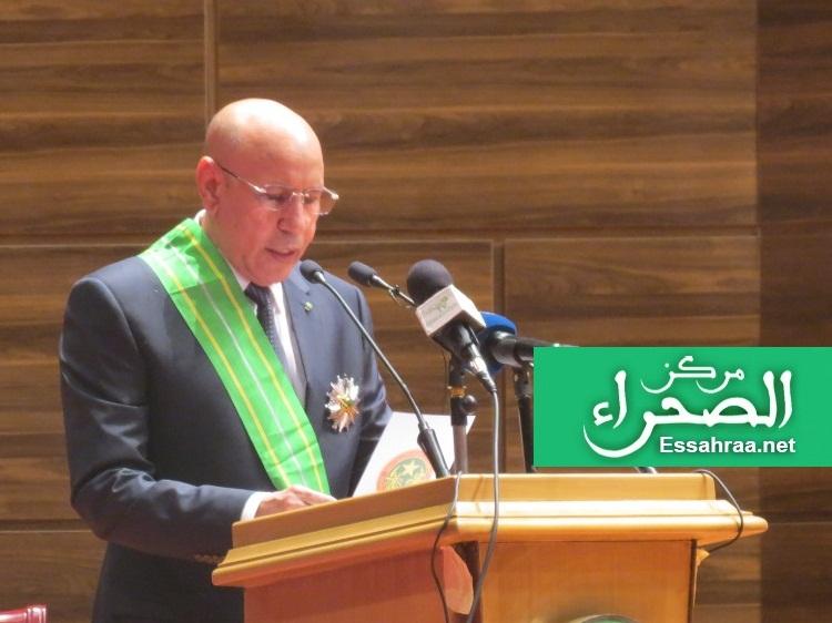 Ghazouani demande aux ministres le bilan des 100 jours de leurs actions