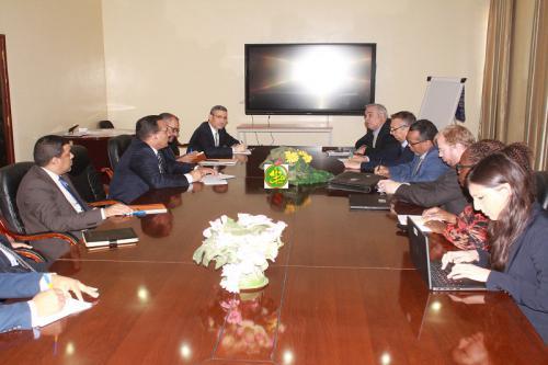 La gouvernance au centre d'une réunion du ministre des finances avec une mission de la Banque Mondiale