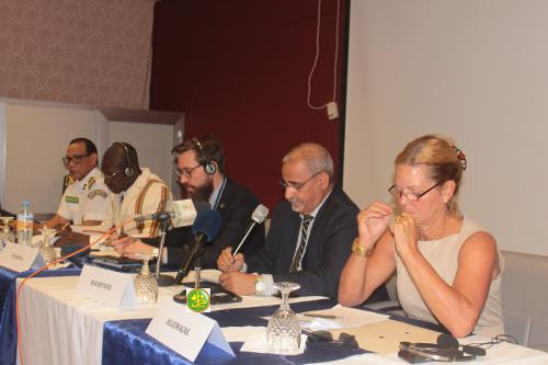 Réunion du comité de pilotage du programme Interpol destiné au G5 Sahel