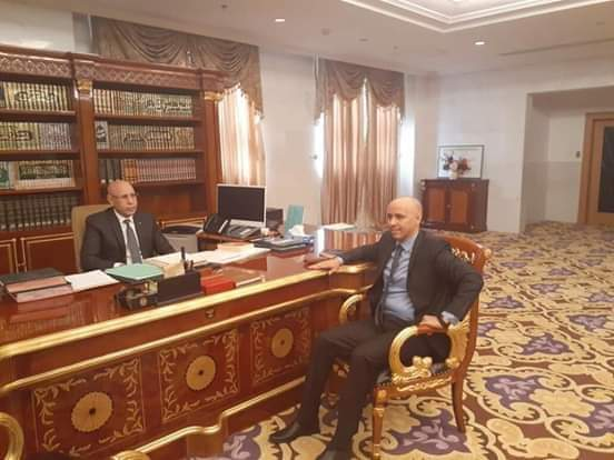Ould Sellahi reçu par le Président à son bureau au palais