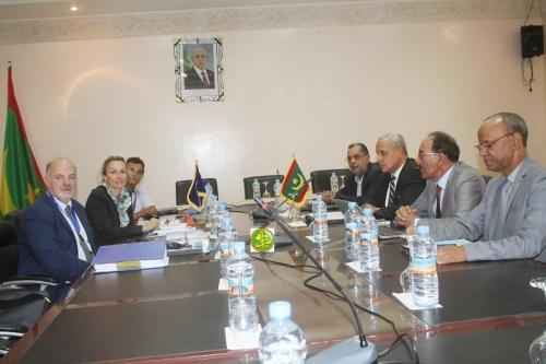 Réunion de la commission mauritano-européenne pour la pêche maritime