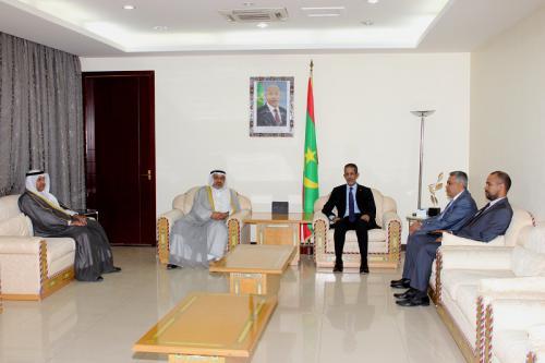 Le Premier ministre reçoit une mission du Fonds koweïtien du développement économique arabe