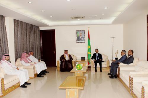 Le Premier ministre reçoit une mission du fonds saoudien de développement