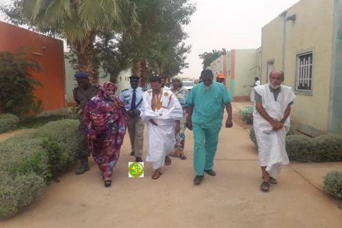 Le ministre de la Santé se rend à l'hôpital Hamad à Boutilimit