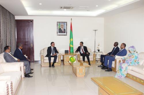 Le Premier ministre reçoit en audience le président de l'Union Internationale des journalistes