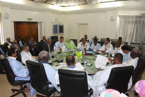 La commission financière discute du budget des droits de l'homme