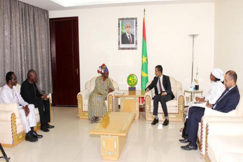 Le Premier ministre reçoit une délégation de l'UNFPA