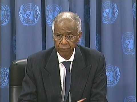 Ahmedou Ould Abdellah  : de 2007 à 2010 représentant spécial de l'ONU pour la Somalie