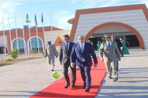 Le président de la République se rend à Akjoujt