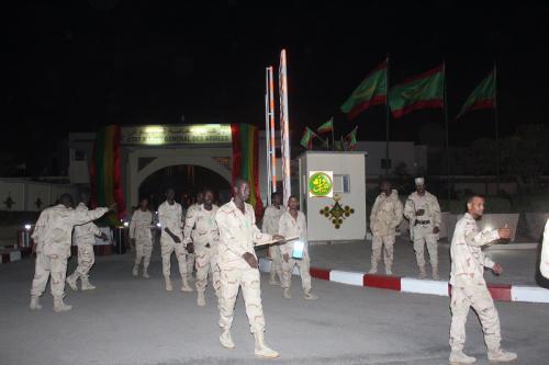 L'État- major général des armées organise une retraite au flambeau