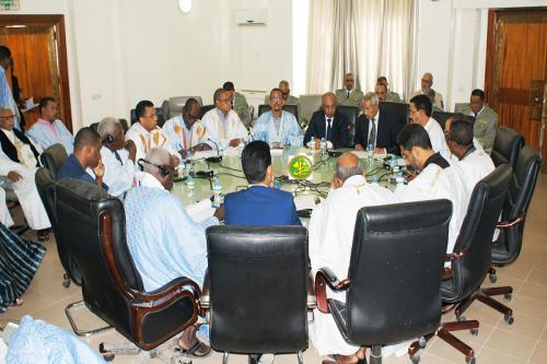 La commission des finances de l'assemblée nationale examine le budget du ministère de la défense nationale
