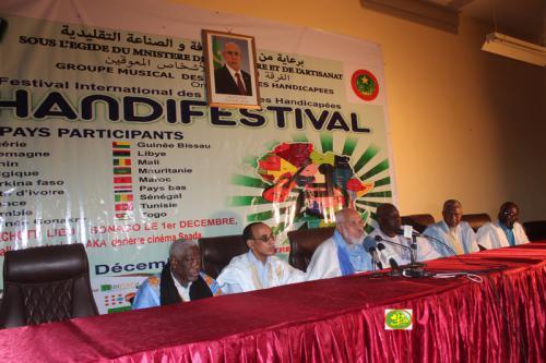 Démarrage de la 9ème édition du Handifestival international de Nouakchott