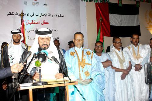 L'ambassadeur émirati à loue les relations fraternelles et d'amitié entre les deux pays