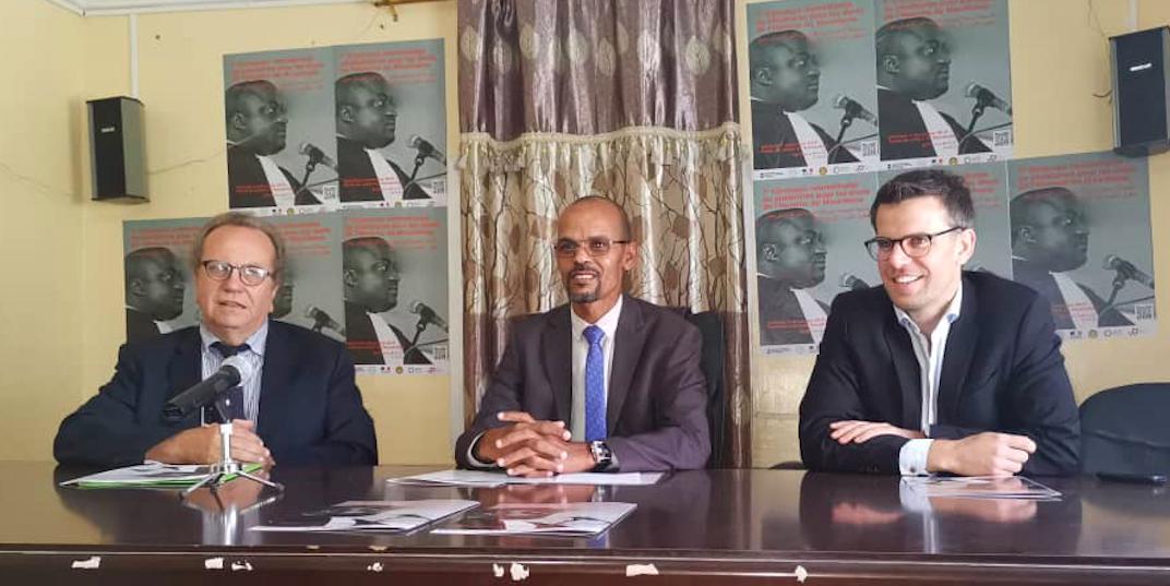Conférence de presse sur le lancement du 7e Concours de Plaidoirie pour les droits de l'Homme