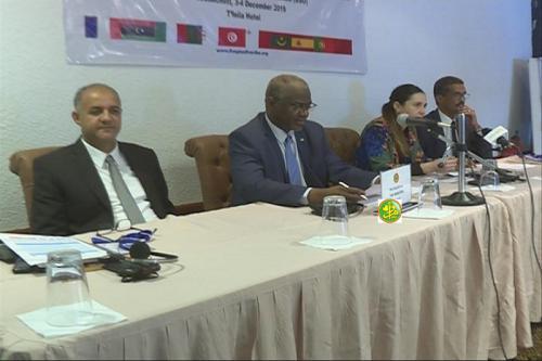 Ouverture de la huitième réunion des hauts responsables des États du dialogue 5+5