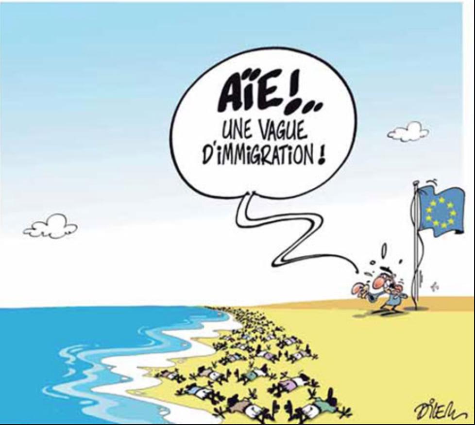Naufrage d'une embarcation transportant des migrants clandestins au large de Nouadhibou