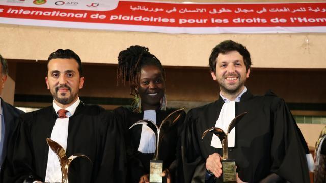 Josette M. Atade-Topanou remporte le concours de plaidoiries